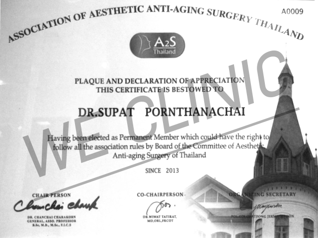 association of aesthetic anti-aging surgery thailand
